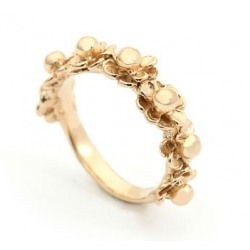 Per Borup HAPPY FLOWER ring 970R 14 karat guld-20
