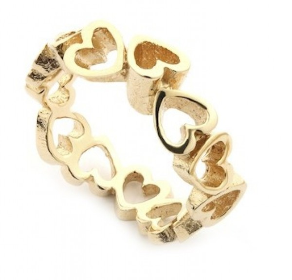 Per Borup OPEN YOUR HEART ring 884R 14 kt guld-20
