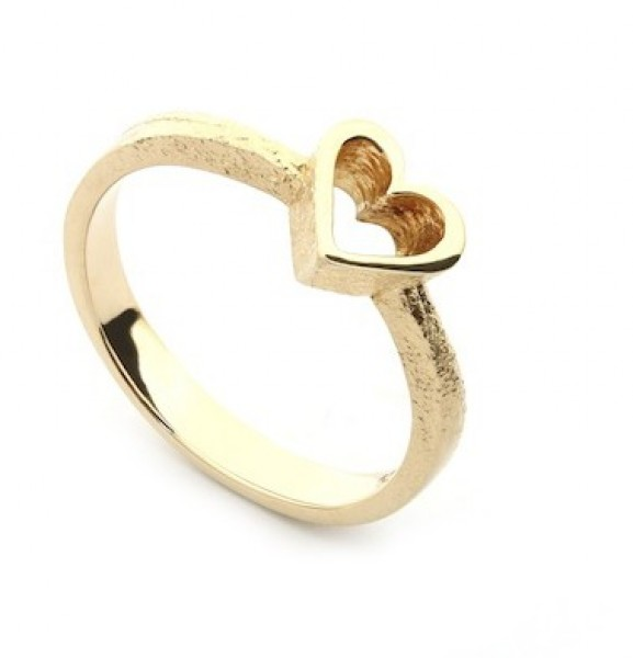 Per Borup OPEN YOUR HEART ring 886R 14 kt guld-20