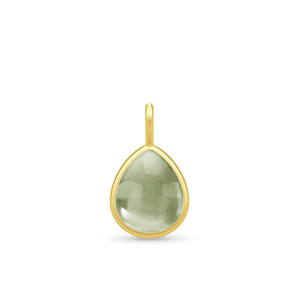 PD309GDOLCR olive pear cabochon