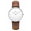 Daniel Wellington CLASSIC 36 and 40 mm St. Mawes Silver ur-00