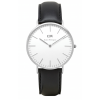 Daniel Wellington CLASSIC 36 and 40 mm Sheffield Silver ur-00
