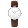 Daniel Wellington CLASSIC 36 and 40 mm Bristol Silver ur-00