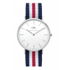 Daniel Wellington CLASSIC 36 and 40 mm Canterbury Silver ur-00