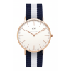Daniel Wellington CLASSIC 36 and 40 mm Glasgow Rose ur-0