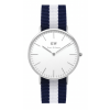 Daniel Wellington CLASSIC 36 and 40 mm Glasgow Silver ur-0